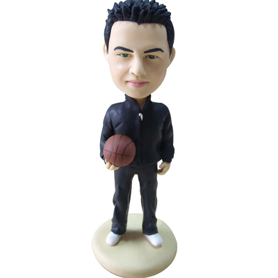 Custom Bobble Head for Basketball Boy