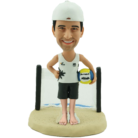 Beach Volleyball Bobblehead