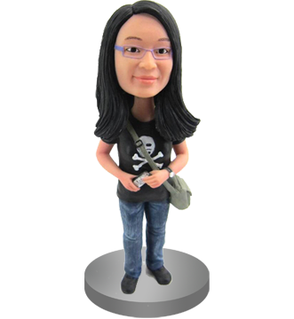 Customized Citizen Journalist Bobble Head