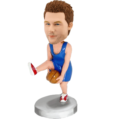 Fancy Basketball Player Bobblehead