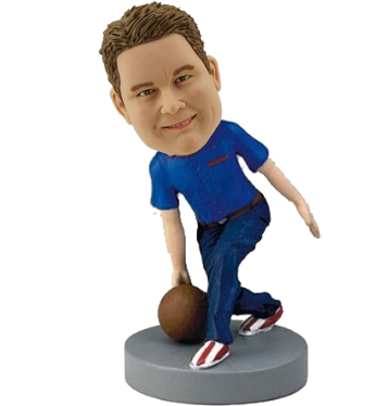 Personalized Bowling Bobble Head