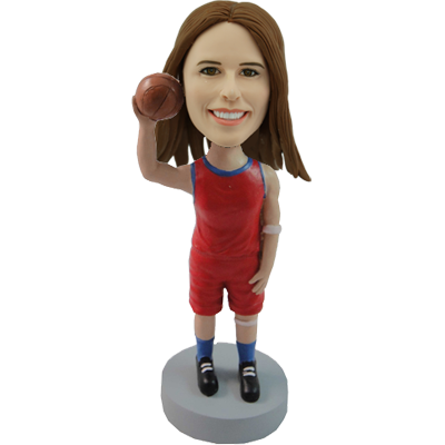 Basketball Girl Bobblehead