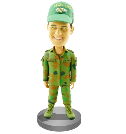 Custom Air Force Bobble Head