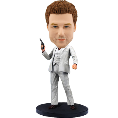 Personalized Hitman Bobblehead