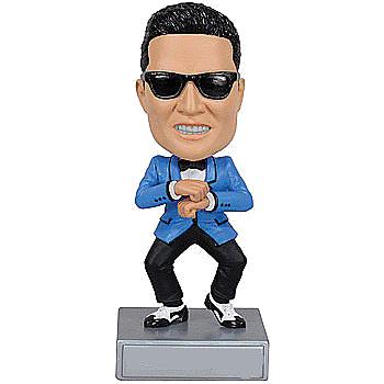 Gangnam Style Dancing Bobble Head