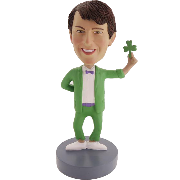 Irish Style Custom Bobble Head