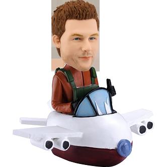 Bobble Head of Pilot