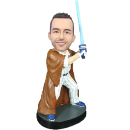 Baseball Star Wars Custom Bobble Head