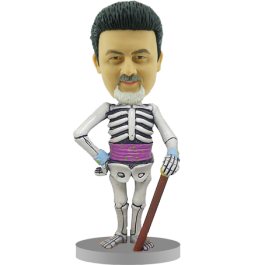 Personalized Skeleton Bobblehead