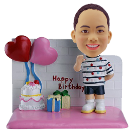 Boy Birthday Custom Bobblehead