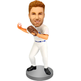 Bustom Baseball Buddy Bobble Head
