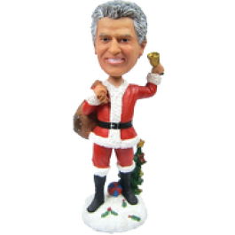 Personalized Christmas Bobblehead for Man