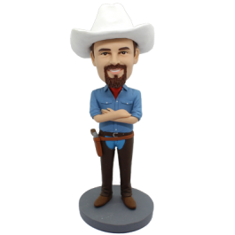 Cowboy Personalized Bobblehead