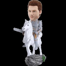 Knight on Horse Customized Bobble Head