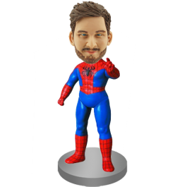 Personalized Spider-man Bobble Head
