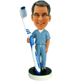 Personalized Dentist Bobble Head