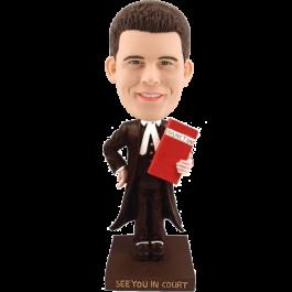 Custom Bobblehead for Attorney