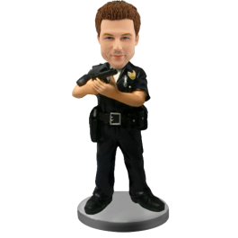 Custom Bobble Head for Policeman
