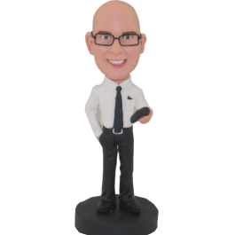 Customized Speaker Bobblehead