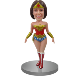 Personalized Wonder Woman Bobble Head