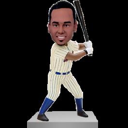 Custom Baseball Batter Bobble Head