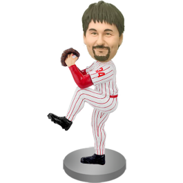 Custom Baseball Buddy Bobblehead