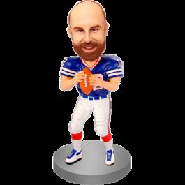 Custom Bobble Head for Football Fan