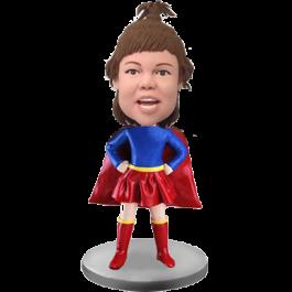 Custom Bobble Head Super Girl
