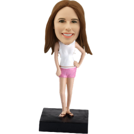 Custom bobblehead Beach bikini
