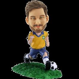 Custom Brazil Soccer bobblehead