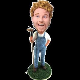 Custom Farmer Bobblehead