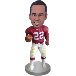 Custom Football Buddy Bobble