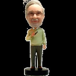 Custom Professor Bobblehead