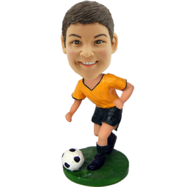 Custom Soccer Boy Bobblehead
