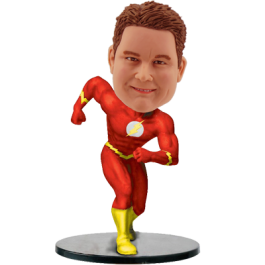 Personalized Flash Bobble Head