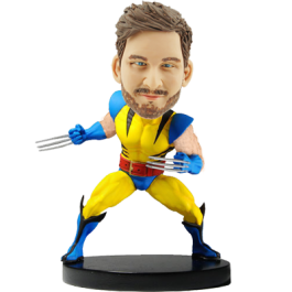 Custom Marvel Wolverine Bobble Head