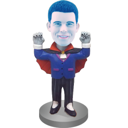 Personalized Vampire Bobble Head