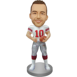 Customized American Football Bobble Head