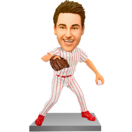 Customized Baseball Picther Bobble Head