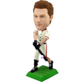 Customized bobblehead baseball