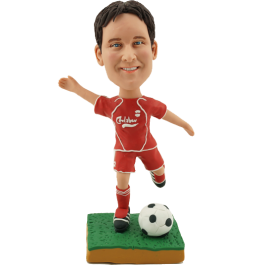Customized Soccer Buddy Bobblehead