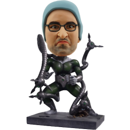 Personalized Doctor Octopus Bobble Head