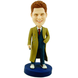 Customized Doctor Who Bobble Head