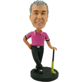 Field Hockey Bobblehead