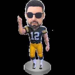 Football Buddy Custom Bobblehead