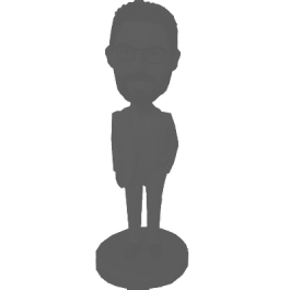 Fully Custom Groomsmen Bobblehead