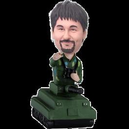 Man in Tank Custom Bobblehead