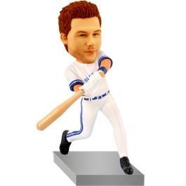 Personalized Baseball Batter Bobble