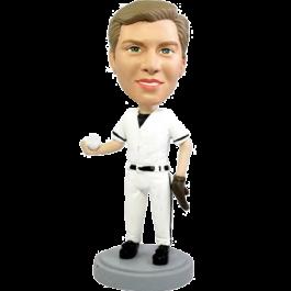 Personalized Baseball Bobble Head