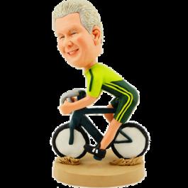 Personalized Biker Bobblehead